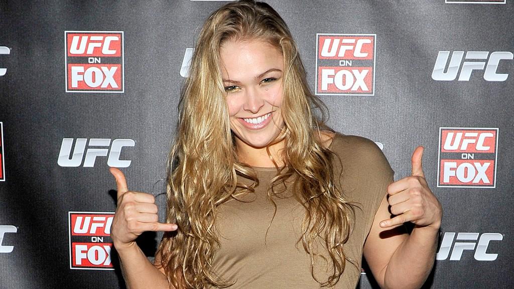 THE UFC SENSATION: RONDA ROUSEY